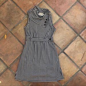 ModCloth Houndstooth Fall Dress Size Medium